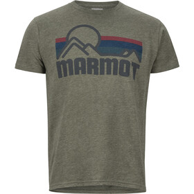 Marmot M's Coastal SS Tee Olive Heather